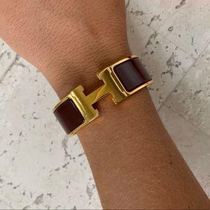 Hermes Jewelry - Hermès Clic Clac H Bracelet